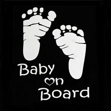 Hot Baby on Board Vinyl Car Graphics Window Vehicle Sticker Decal Decor Auto TS