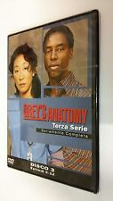 Grey's Anatomy DVD Serie Televisiva Stagione 3 Volume 3 - Episodi 4