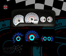 FORD ESCORT MK5 1990-95 130MPH PLASMA GLOW WHITE DIAL KIT UPGRADE FOR SPEEDO