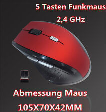 USB Funk Maus Kabellos Wireless Optische Mouse 2.4 GHz PC Notebook Computer Maus