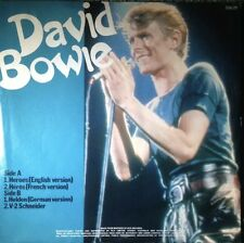 """DAVID BOWIE Heroes (3 versions)V-2 Schneider 1977 AUSTRALIA RCA 7"""" EP WithSleeve"""
