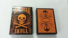Bicycle Skull Orange Playing Cards Deck New Limited Edition Sealed