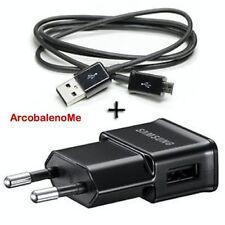 CARICA BATTERIA 220V PER SAMSUNG GALAXY GRAND NEO GT i9060 MICRO+CAVO USB RETE