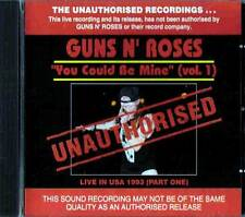 "Guns N'Roses""You Could Be Mine(Vol.1)""Live in USA 1993 CD AUSTRALIA SEALED"