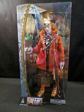 Disney Store Authentic Alice Through the Looking Glass The Mad Hatter doll