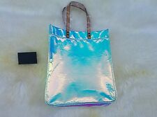NWT J Crew Iridescent Hologram Tote Bag $138 SOLD OUT! Waikiki Sunrise