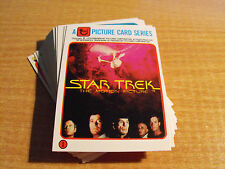 STAR Trek la Motion Picture COLONIALE PANE SET 33 Scheda