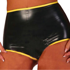 2016 New Sexy Latex Rubber Underwear For Women Unique Fashion Shorts Gummi 0.4mm