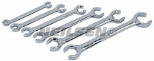 6 Piece Flare Nut Wrench Spanner Set - SAE  IMPERIAL - Brake and air gas pipes