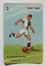 Pepys Football Card 1959 Blackburn Rovers Goal The Soccer Card Game