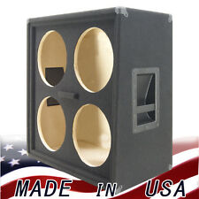 4x12 Empty Guitar Speaker Cabinet Half Stack Vertically Slanted