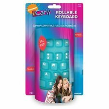 BRAND NEW ROLLABLE WATER-RESISTANT TACTILE COMPUTER KEYBOARD Corded USB Connectr
