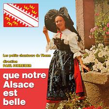 CD Que notre Alsace est belle