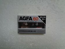 Vintage Audio Cassette AGFA Stereochrom 60+6 * Rare From 1985 * - 10% OFF