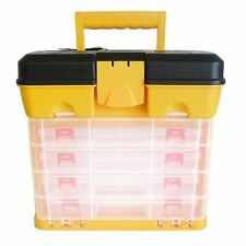 BLACKSPUR Fishing Tackle Box Art/Craft/Hobby/Tool Organiser Case TC350 27x17x26