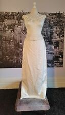 Designer Gown ( Ivory) Wedding, Ball, Prom, Bridesmaid etc, RRP £500+