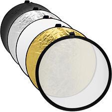 60cm 5 en 1 Réflecteur de Lumière Diffuseur Professionnel Pliant Studio + Housse