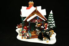 North Pole Village Hall Disney Winter Wonderland Christmas Village