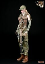 """12"""" Action Figure Female Soldier Combat Clothing Suit 1/6 Toy Fire Girl FG003"""