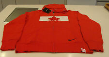 Team Canada 2014 Sochi Winter Olympics Hockey S Classic Red Full Zip Hoody