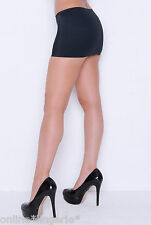 MINI SKIRT SIZE 20-22 SEXY BLACK STRETCH LYCRA SHORT MICRO CLUB TV PARTY CD CS2