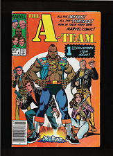 "1984   1st ISSUE  "" THE A - TEAM ""  MARVEL   COMIC BOOK  U - GRADE !"