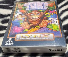 Toki Atari LYNX Game BRAND New Sealed  in the Box