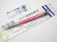 Tombow Mono Graph 0.3mm Mechanical Pencil w/ Eraser Pen + 3 Eraser Refills, P