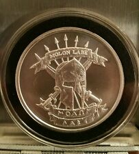 1 oz .999 Silver Sentinel Molon Labe come and take it sword, gun ar15 hunter 300