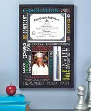 Graduation Keepsake Collage Picture Frame 5X7 Photo Tassel and Diploma Display