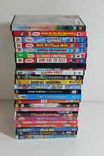 Lot 25 Disney and Other Kid Family DVDs Thomas, Charlie Chocolate, smurfs, Bolt