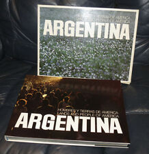 Lands & People of America: Argentina 1980 Pictorial Spanish/English Beautiful