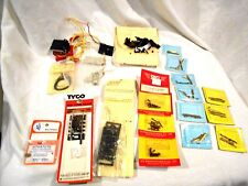 Miscellaneous Train Track Layout Pieces Screws/Contacts/Wire/Switches
