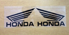 A Pair Rearview Mirror Car/Motorcycle Stickers Decals Graphics For Honda(Black)
