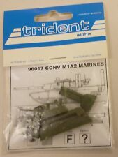 Trident HO 1/87 M1A2 Marines Tank  Conversion Resin Parts 96017