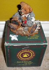 """Boyds Bears and Friends Collection Bear Figurine Wilson The """"Perfesser"""""""