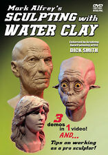 SCULPTING WITH WATER CLAY DVD by Mark Alfrey how-to art instruction