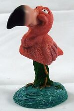 Flamingo Bird Bobble Head Figurine.Wobbler.Nodder.Cute Collectible Figure MBHA36