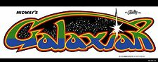 Galaxian Arcade Marquee For Reproduction Midway Header/Backlit Sign