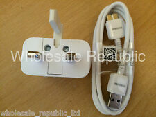 Genuine Samsung Galaxy S5 Note 3 Rapid Wall Charger & 3.0 USB Lead Sync Cable