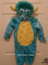 DISNEY CHILDRENS & INFANTS COSTUME LITTLE MONSTER 18 MONTHS NEW IN PACKAGE