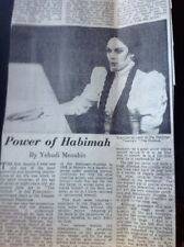 Ephemera 1965 Article Habimah Israel National Theatre The Dybbuk Aldwych  M61101