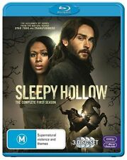 Sleepy Hollow : Season 1 (Blu-ray, 2014, 3-Disc Set)*VGC*