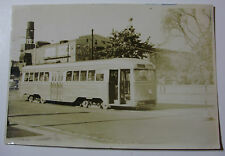 USA787 - BROOKLYN QUEENS TRANSIT Co - TROLLEY CAR No1020 PHOTO - New York USA