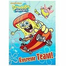 Deluxe Coloring Book: Extreme Team! (SpongeBob SquarePants) by Golden Books...
