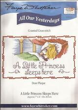 "Counted Cross Stitch All Our Yesterdays 7"" x 4"" Little Princess (072-20)"