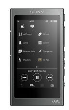 Sony NW-A35 Walkman® with High-Resolution Audio (Charcoal Black) (SMP6)