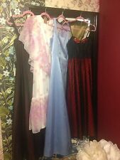 Joblot Vintage Prom Dresses Party Wedding 1970s 1980s 1990s