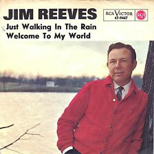 """7"""" Jim Reeves – Welcome To My World / Cover: am Baum // Germany 1963"""