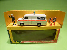 DINKY TOYS 269 FORD TRANSIT POLICE ACCIDENT UNIT - RARE SELTEN - GOOD IN BOX
